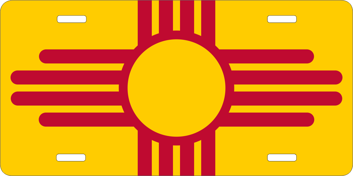New Mexico 3ft X 5ft Printed Polyester Flag Ziagifts