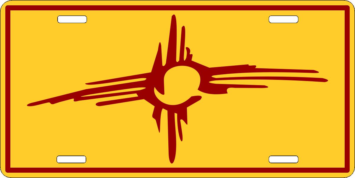 Stylized Zia Symbol Ziagifts