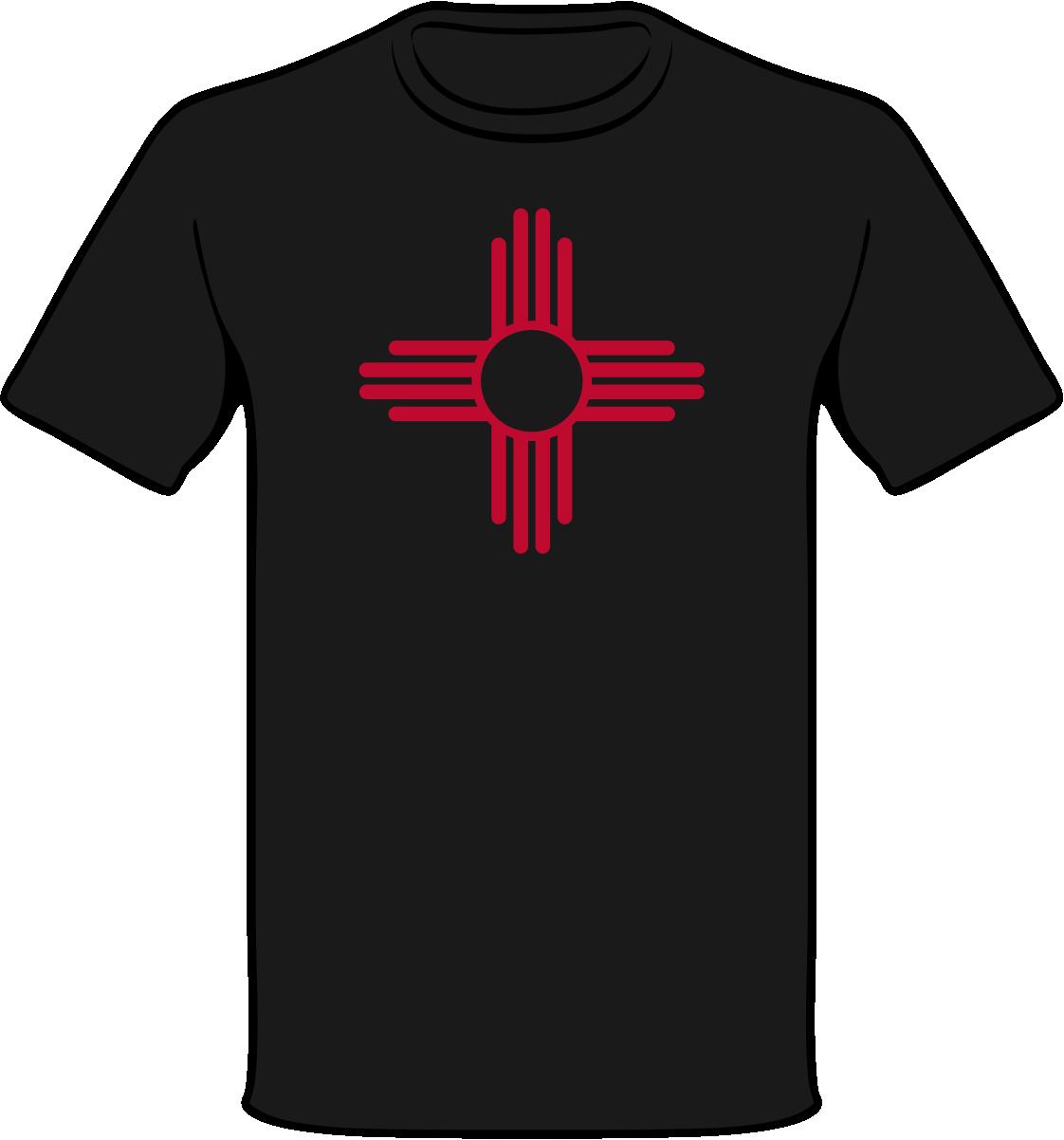 2f832cc54 NM Zia Symbol Shirt | ZiaGifts.com
